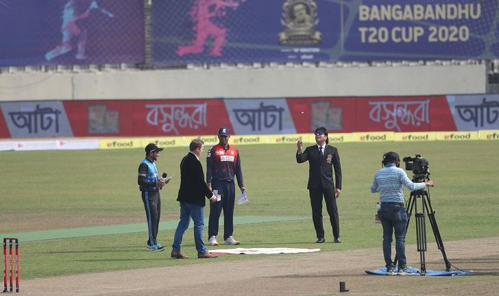 Dhaka bowls first against Barishal in Bangabandhu T20