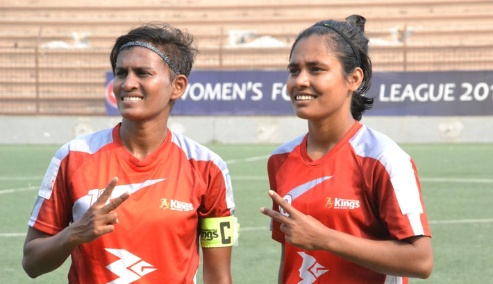 Kings on verge of maiden women's league title