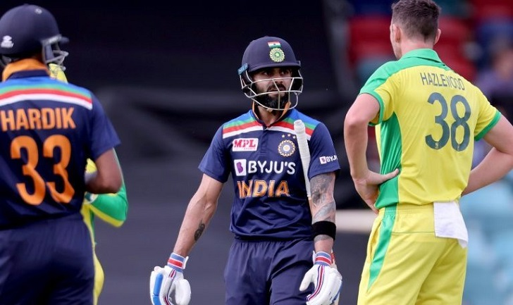 Kohli falls to nemesis, Pandya hits India to 302-5 in ODI