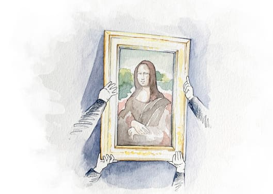 Auction offers chance to get up close and personal with 'Mona Lisa'