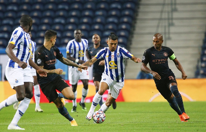 Porto reach last 16, Man City top group after stalemate