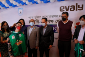 Evaly providing jersey for para footballers