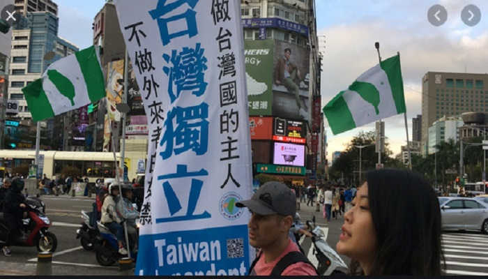 China weighs legal steps against 'diehard' supporters of Taiwan independence
