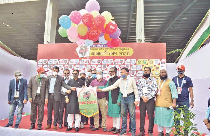 Bashundhara Kings BFSF U-14 Academy Cup begins