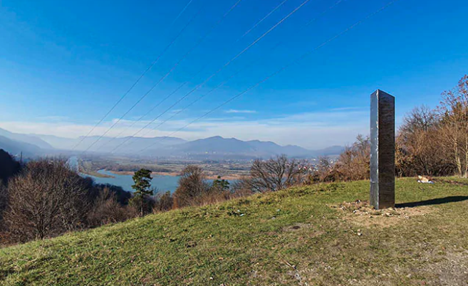 Days after US Desert mystery, another Metal Monolith found in Romania