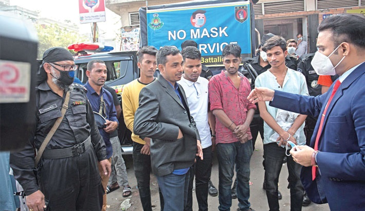 Mobile court drives beefed up to ensure use of face mask