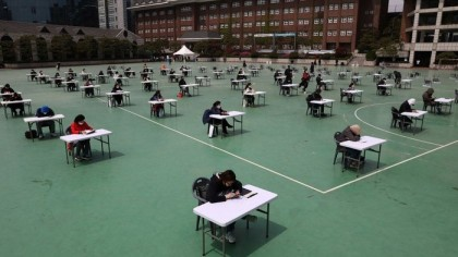 South Korea: The life-changing exam that won't stop for a pandemic