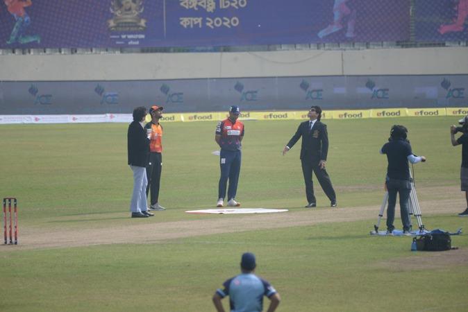 Barishal bowls first against Khulna in Bangabandhu T20