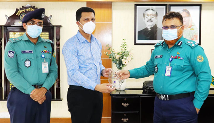 Albion Group provides hand sanitisers, masks to CMP