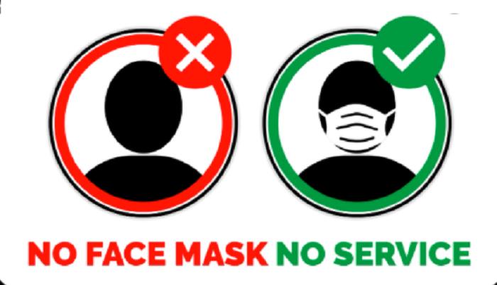 City's supermarkets take 'No Mask, No Service' policy