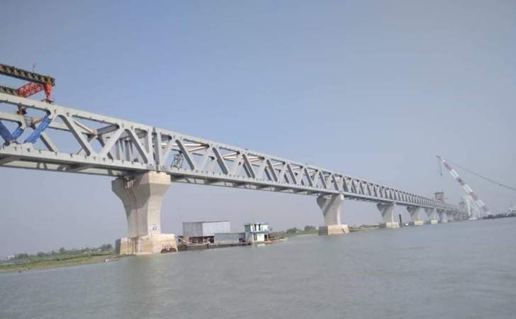 40th span of Padma Bridge installed, only one more to go