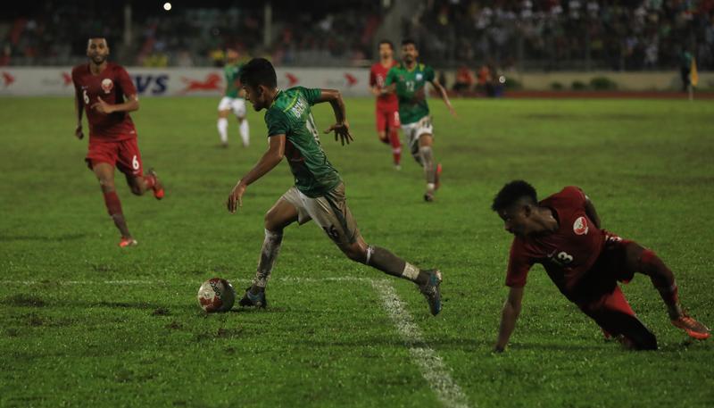 FIFA, AFC Joint Qualifiers: Bangladesh face Qatar tonight