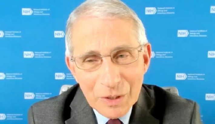 Dr Fauci apologises for saying UK 'rushed' vaccine