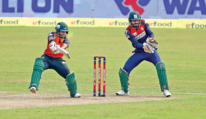 Zakir powers Khulna over Barishal