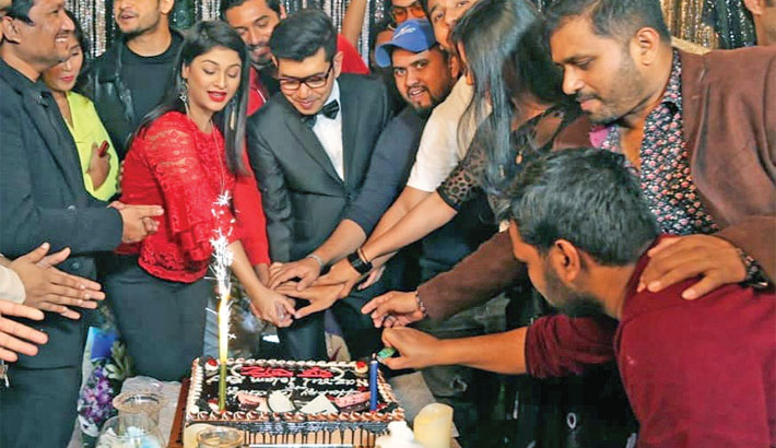Actor Raz's birthday celebrated