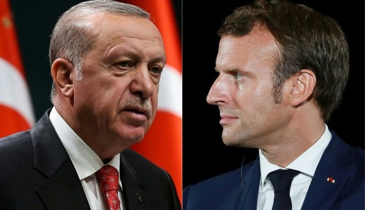 Erdogan hopes France will 'get rid of Macron' as soon as possible