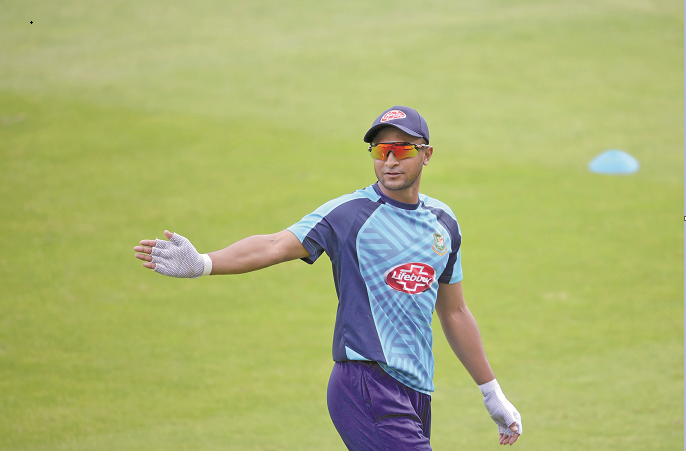 BCB all set to include Shakib in central contract list