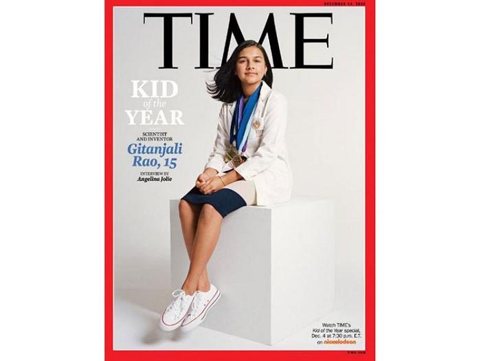 Indian American teen Gitanjali Rao is TIME 'Kid of the Year'