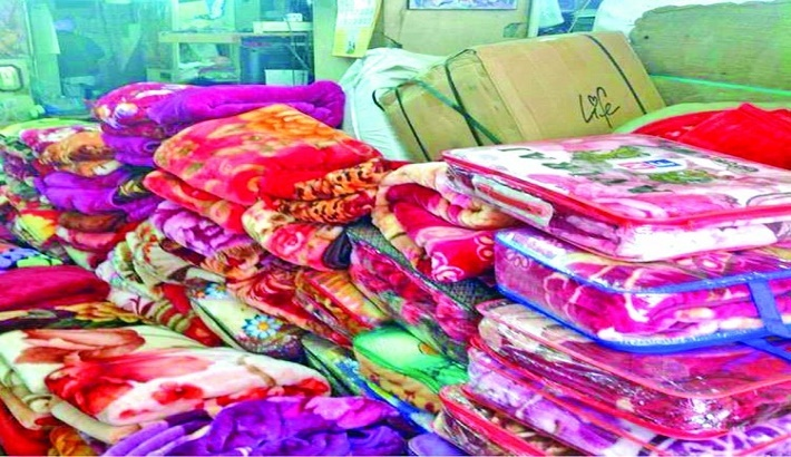 Sale of warm clothes on rise as winter approaches