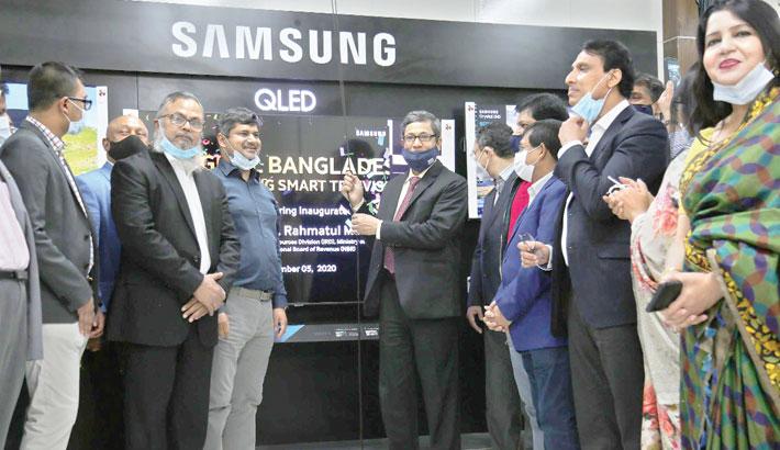 Samsung launches TV mfg plant