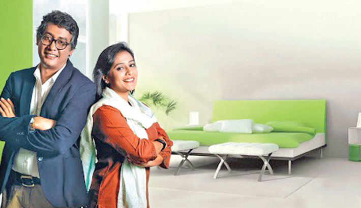 Reality show 'Berger Happy Home' on Channel i