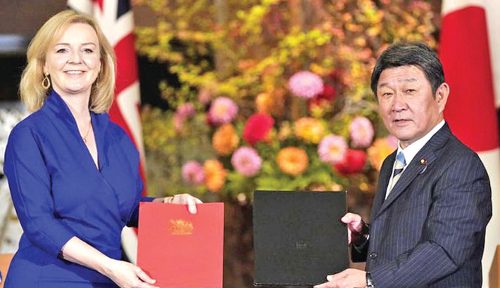 Japan approves post-Brexit trade deal with Britain