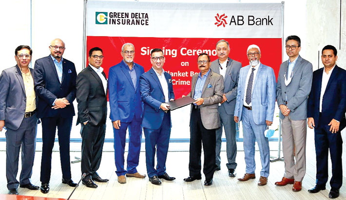 AB Bank signs deal with Green Delta Ins