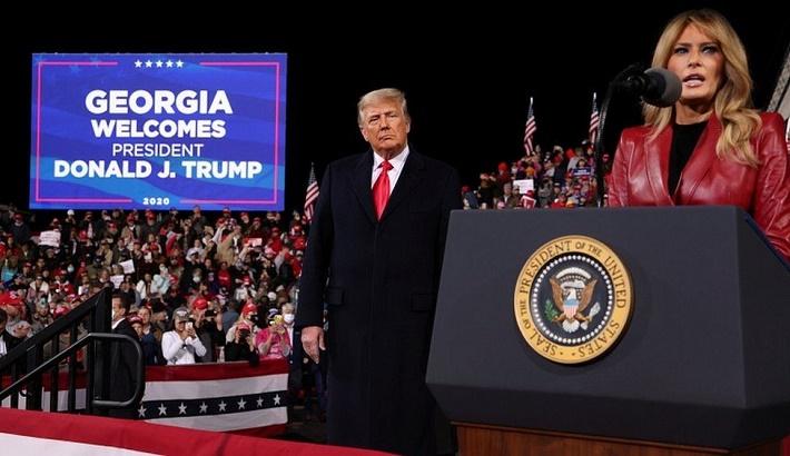 Trump presses Georgia governor to help overturn result