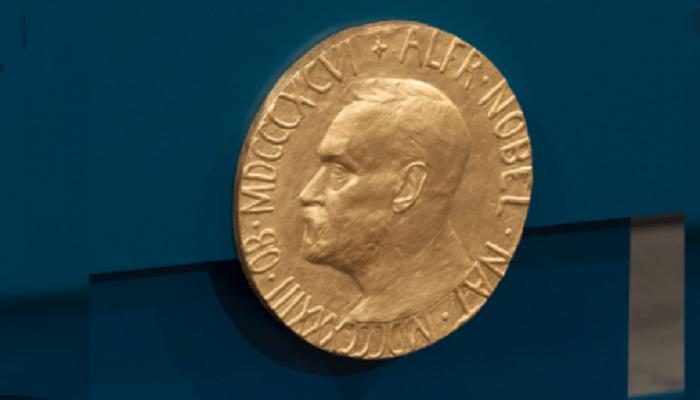 Nobel laureates receive prizes at home amid pandemic