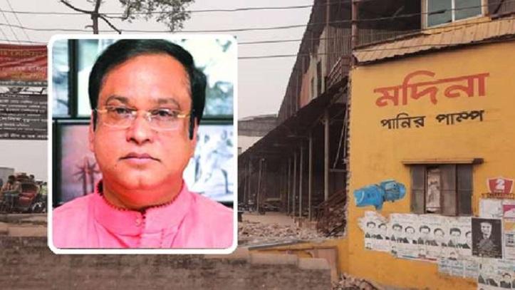 Haji Salim demolishes own illegal establishments sensing BIWTA eviction drive