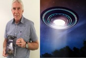 Traffic officer 'gobsmacked' after filming 'UFO' hovering in skies while on patrol