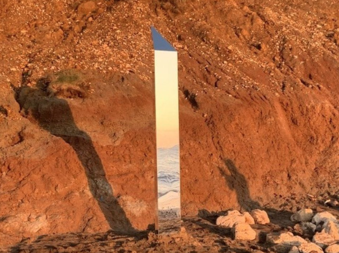 'Magical' monolith appears on Isle of Wight beach in UK