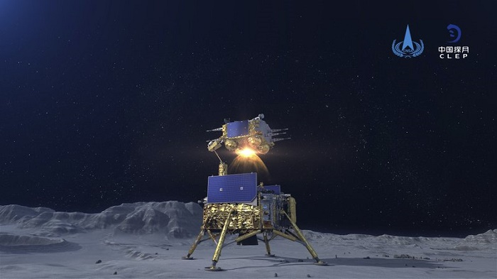Chinese probe prepares to return moon rocks to Earth