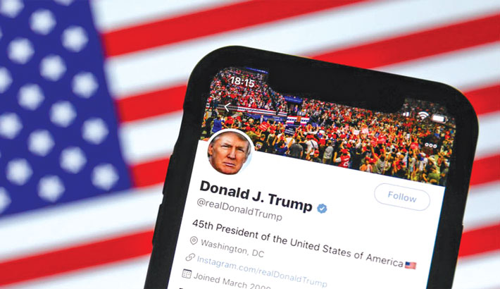 China says Twitter hacked  after Trump retweet