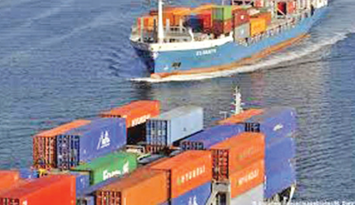 German exports inch up