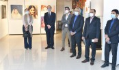 British, Turkish envoys impressed by artworks featuring PM Hasina