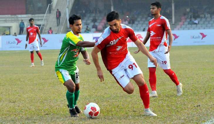 Champions Bashundhara Kings in Group C