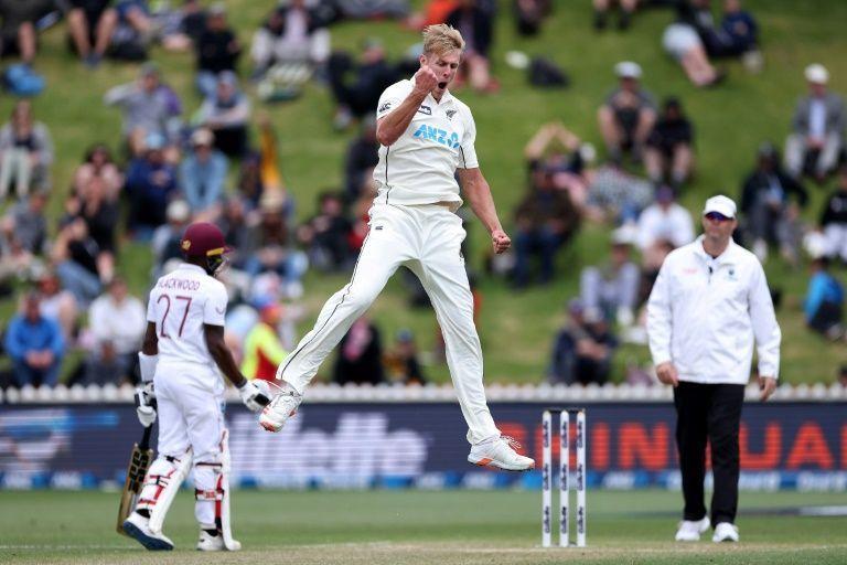 Jamieson strikes to put West Indies on brink of series defeat