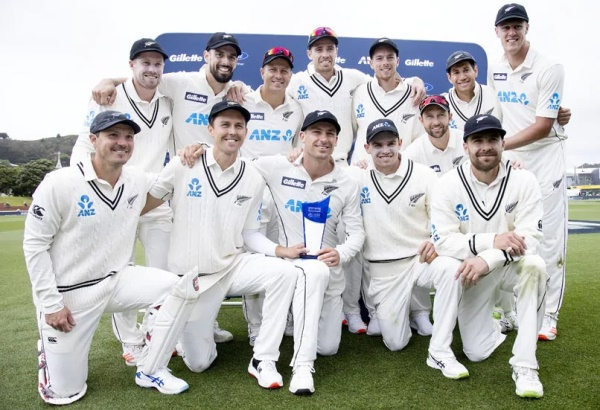 New Zealand sweep West Indies to top Test cricket rankings