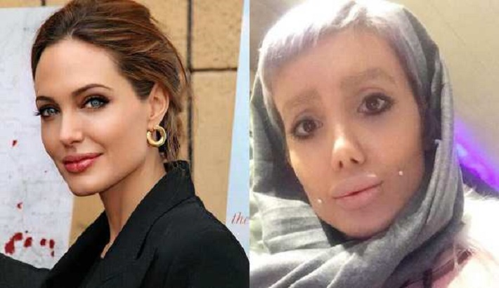 'Angelina lookalike' Sahar Tabar sentenced to 10 years in jail in Iran, for 'corrupting youth'