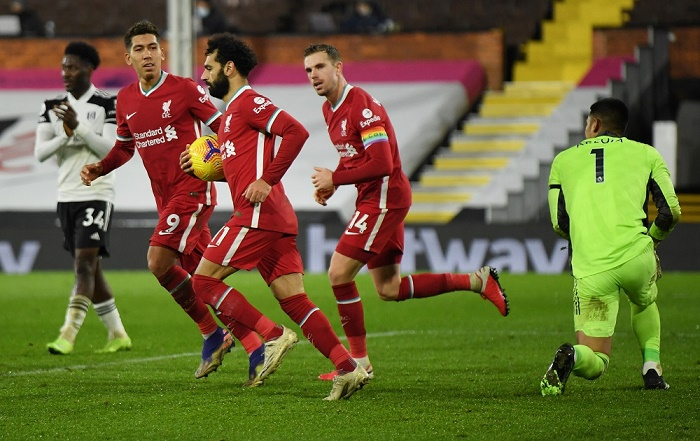 Salah rescues Liverpool after Klopp rant in Fulham draw