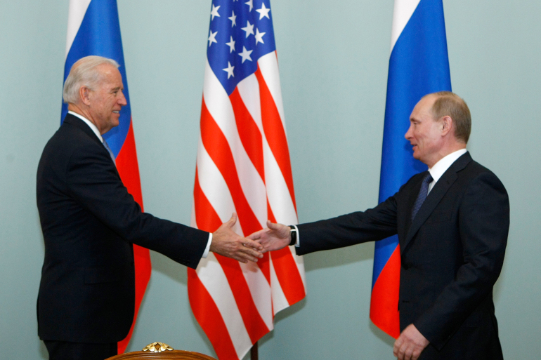 Putin congratulates Biden, says ready for 'collaboration'