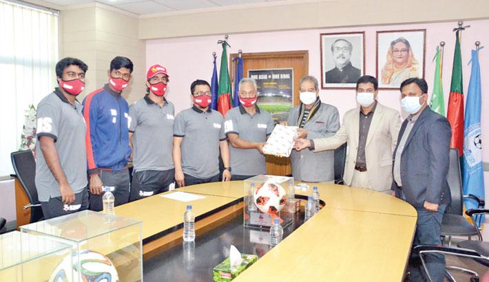 Bashundhara Kings complete  registration formalities