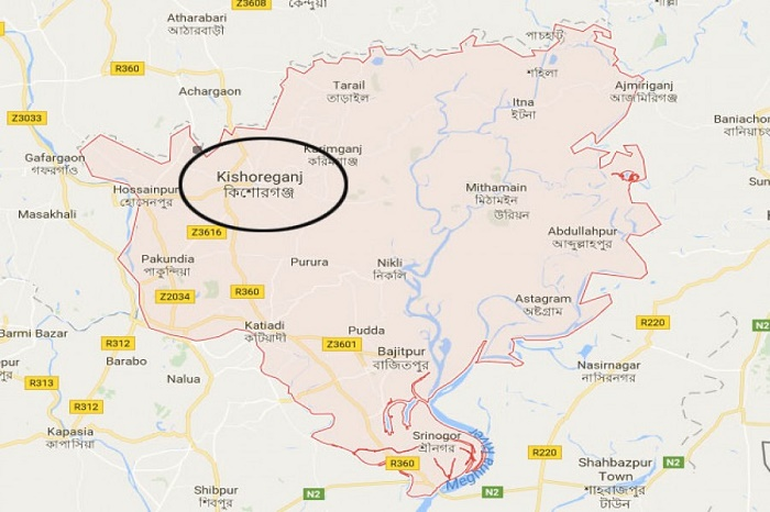 3 killed as truck rams auto-rickshaw in Kishoreganj