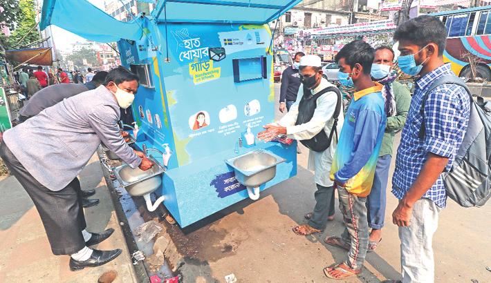 Handwashing On Wheels