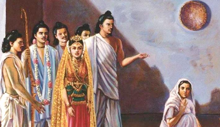 Kunti in Mahabharat