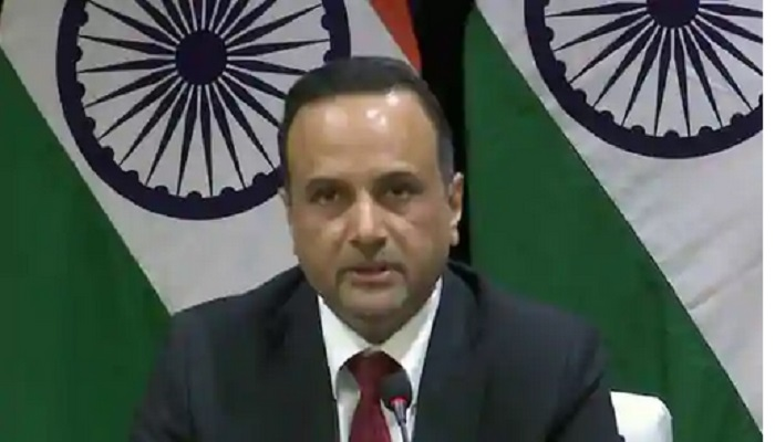 India in touch with China over two stranded ships in Chinese waters: MEA