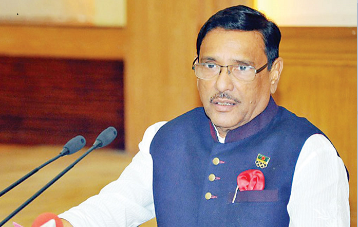 Complaining to foreigners is main task of BNP: Quader