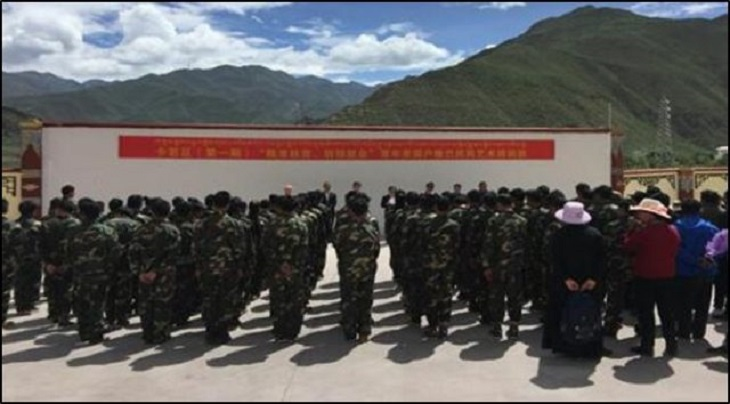 Xinjiang's System of Militarized Vocational Training Comes to Tibet