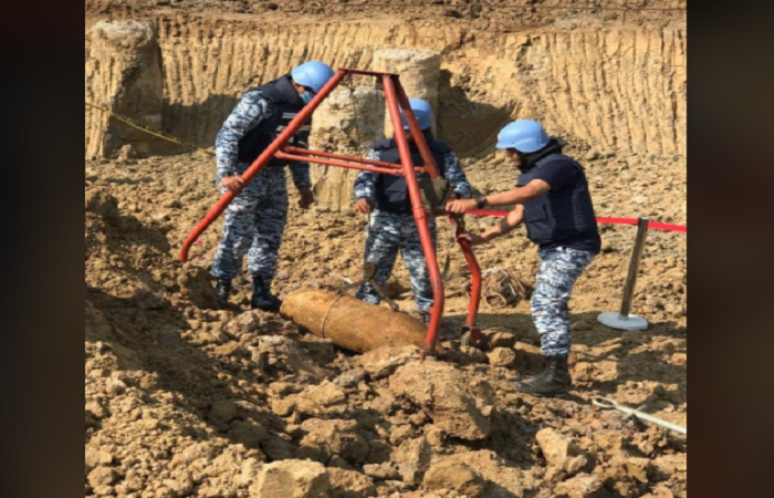 Another wartime bomb found at construction site of HSIA third terminal
